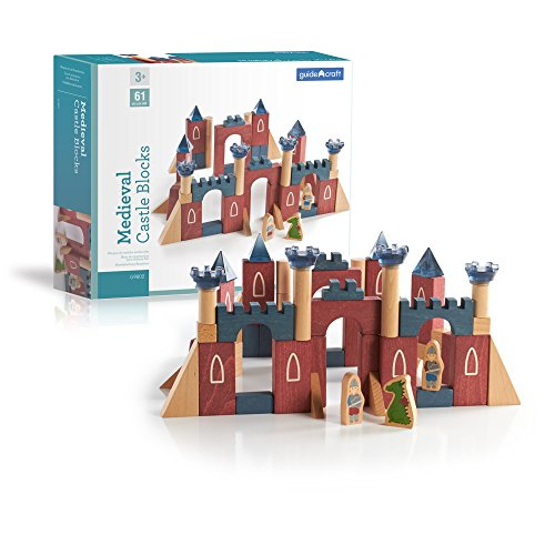 Guidecraft Medieval Castle Blocks G9802