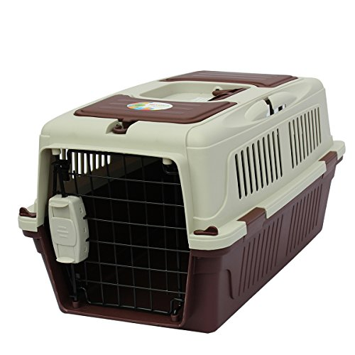Sky Kennel for Dog Airline Approved Hard-Sided Pet Carrier ,19.7*13*11.8inch