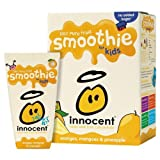 Innocent Kids Orange, Mango & Pineapple Smoothies 4x4x180ml