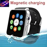 GT88 Smart watch Sweatproof Smart Watch Phone Bluetooth 4.0 easy Connection Make Calls support Sim tf for Apple Iphone 5 5s 6 6s Plus and All Other An available at Amazon for Rs.8544