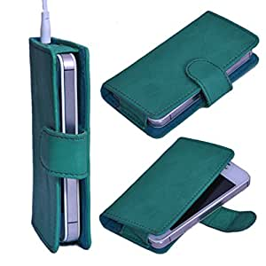 StylE ViSioN Pu Leather Pouch for Blu Advance 4.0