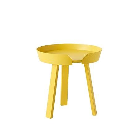 Muuto - Around - Table Basse Petite Jaune