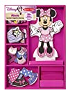 Minnie Wooden Magnetic Dress-Up Play Set