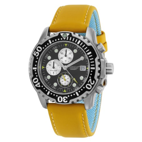 Momentum  Men's 1M-DV84B12Y Cyclone Chronograph Sport Water-sports Watch