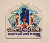 1998 Super Bowl Xxxii Disney'S Wide World Of Sports Pop Warner Patch