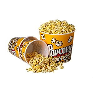 Plastic Popcorn Bucket