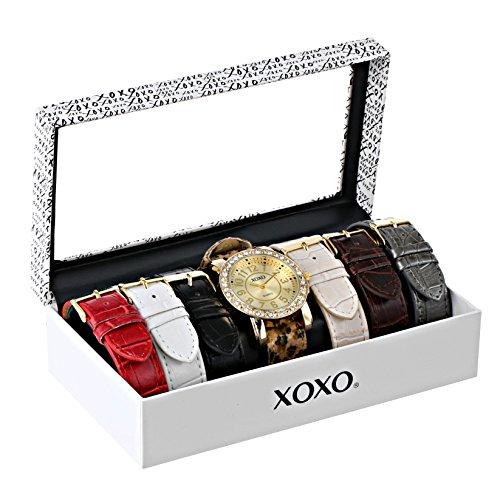 XOXO XOXO Women's XO9065 Analog Display Analog Quartz Brown Watch