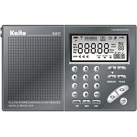 Kaito Pocket-Size PLL Synthesized AM/FM Shortwave Radio, KA11