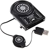Mini Vacuum USB Air Extracting Cooling Fan Cooler for Notebook Laptop - Ships from USA warehouse in CA