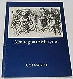img - for Exhibitinon of Old Master Prints: Mantegna to Meryon book / textbook / text book