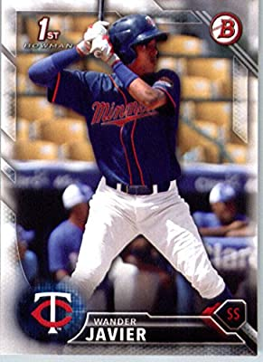 2016 Bowman Prospects #BP32 Wander Javier Minnesota Twins Baseball Card-MINT