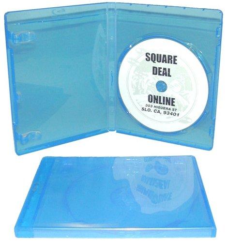 Imagen de 5 Vaciar Estándar Azul Reemplazo Cajas / Cajas de películas en discos Blu-Ray # DVBR12BR