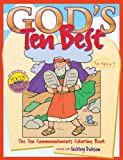 img - for God's Ten Best Coloring Book (Coloring Books) book / textbook / text book