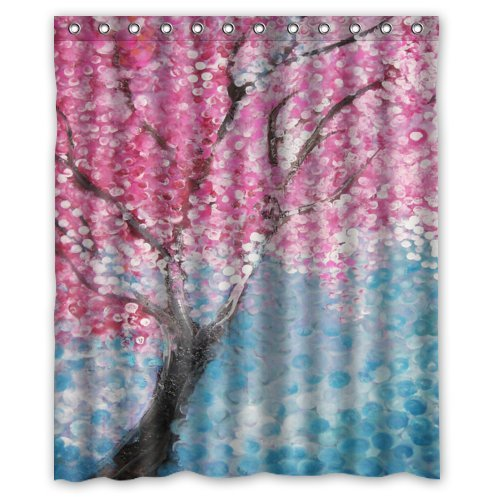 Cherry blossoms shower curtain check price cherry blossoms shower