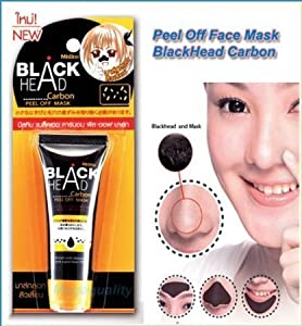 """Thai Happy"" Mistine Blackhead Remover Carbon Charcoal Peel Off Mask"