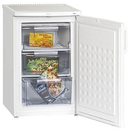 Exquisit GS80-5A++ Réfrigérateur 80 L Blanc