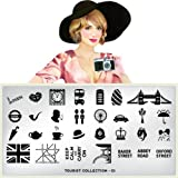 MoYou-London Nail Art Image Plate Tourist Collection 01