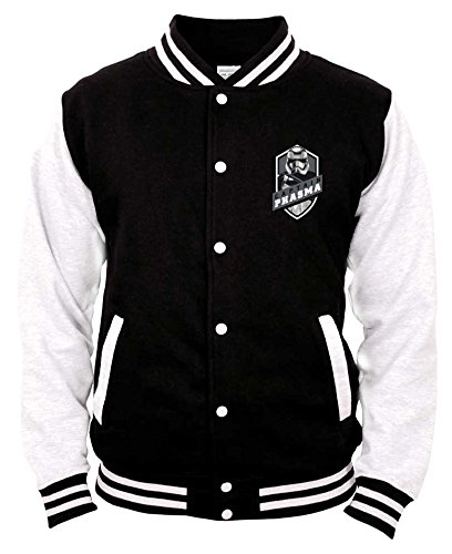 Star Wars Episode VII Baseball Varsity Giubbotto Jacket Captain Phasma Size L CODI