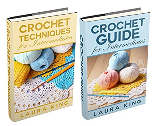 "(2 Book Bundle) ""Crochet Guide For Intermediates"" & ""Crochet Techniques For Intermediates"""