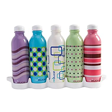 Product Image Waterweek Spectrum 5-pc. Water Bottle Set with Fridge Tray