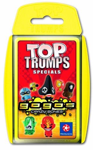Imagen principal de Winning Moves 61144 Top Trumps: GoGo Crazy Bones - Juego de cartas [Importado de Alemania]