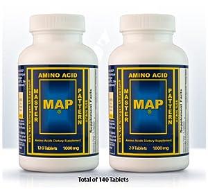 MAP - Master Amino Acid Pattern 140 Tablets