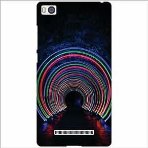 Xomi MI4i Back Cover - Silicon Abstract Designer Cases