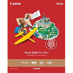 CANON �}�b�g�t�H�g�y�[�p�[ A4 100�� MP-101A4100