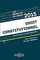 Annales Droit constitutionnel 2015