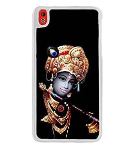 Krishna 2D Hard Polycarbonate Designer Back Case Cover for HTC Desire 816 :: HTC Desire 816 Dual Sim :: HTC Desire 816G Dual Sim