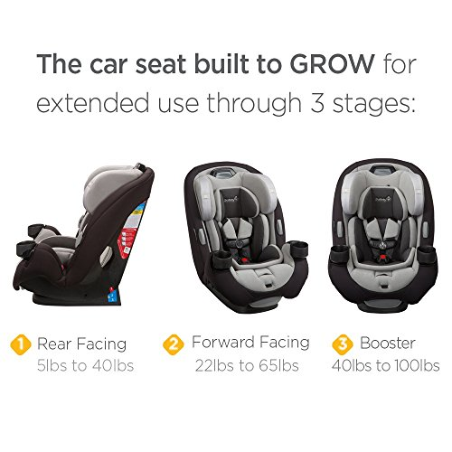 Safety 1st Grow N Go EX Air 3-in-1 Convertible Car Seat, Lithograph ...