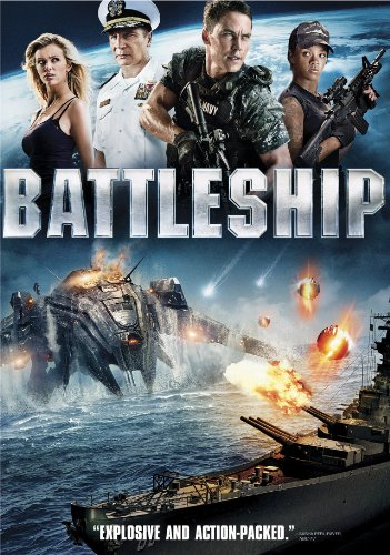 Battleship (Directed by Peter Berg) - The battle for Earth begins at sea in this epic action-adventure starring Liam Neeson, Taylor Kitsch, Rihanna, Alexander Skarsg�rd and Brooklyn Decker. An international naval coalition becomes the world's last hope for survival as they engage a hostile alien force of unimaginable strength. Ripping across sea, sky and land, Battleship is a big bold blast (MSN Movies), packed with spectacular visual effects and explosive action.