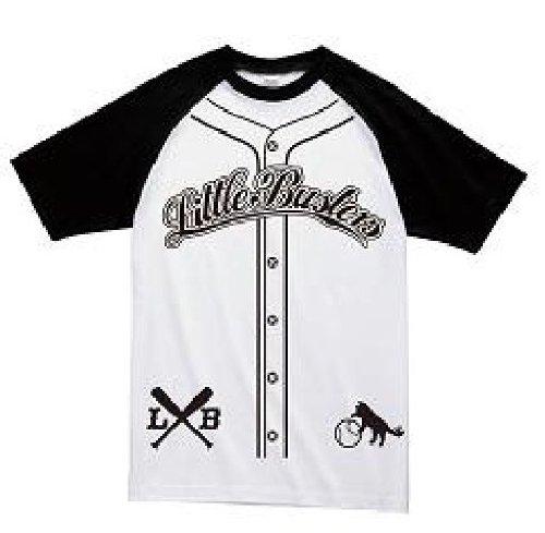 リトルバスターズ! ラグランTシャツ リトルバスターズ! WHITE/BLACK サイズ:S