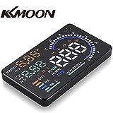 Amazon.co.jpKKmoon 5.5インチ カーHUDヘッドアップ スピードメーター  OBD2 過速度警告 運転走行距離の測定 KM/ H&MPH