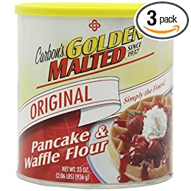 Carbon's Golden Malted Original Waffle and Pancake Flour