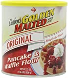 Golden Malted Pancake & Waffle Flour, Original-Super Size Pack- 33-Ounce Cans (Pack of 9)