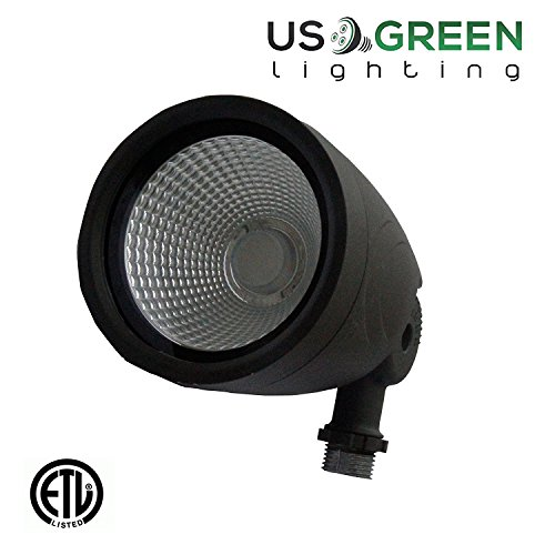 12 Watt UL Listed LED Bullet Flood Light 3000K Warm White 814 Lumen Waterproof Outdoor Lighting Fixture CREE (12 Watts) (Bullets Led compare prices)