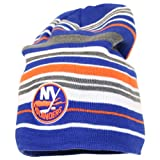 Reebok NHL Long Fashion Stripe Winter Knit Hat / Beanie - New York Islanders at Amazon.com