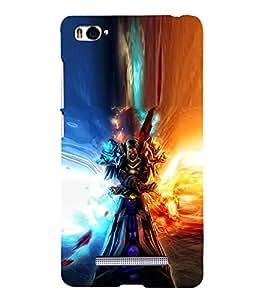 EPICCASE terrific warrior Mobile Back Case Cover For Xiaomi Redmi Mi4i (Designer Case)