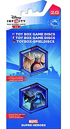 Disney Infinity 2.0 - Toy Box Game Discs: Marvel Pack