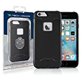 Tech Armor Active Sport Series Case for Apple iPhone 6/6s (Black)