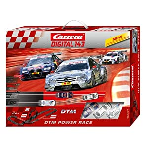 Carrera Digital Power Car Race Set, 1:43 Scale