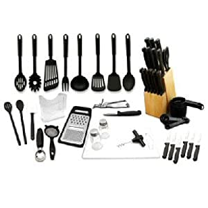 Hampton Forge 52-Piece Kitchen Starter Set
