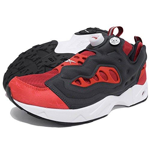 (リーボック) Reebok スニーカー メンズ 男性用 インスタポンプ フューリー ロード Flash Red/Motor Red/White/Coal 限定(V69399) 28