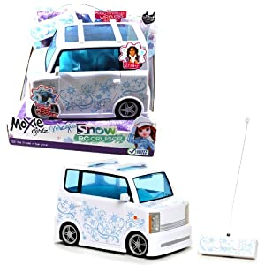 """MGA Entertainment Moxie Girlz """"Be True! Be You"""" Magic Snow Series 27 MHz RC Cruiser with Simple Function (Forward and Reverse Turn Only) Radio Control Wireless Remote"""