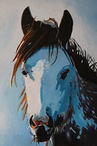 Horses Animal Painting Print On Canvas Wall Art Deco Home Decoration 20X15In Unframed