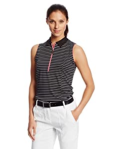 Sport Haley Ladies Sleeveless Stripe Shirt by Sport Haley
