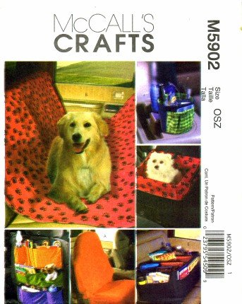 McCall's Patterns M5902 Car Organizers, One Size Only