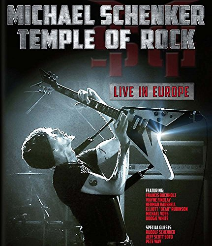 Blu-ray : Michael Schenker - Temple of Rock: Live in Europe (2 Disc)
