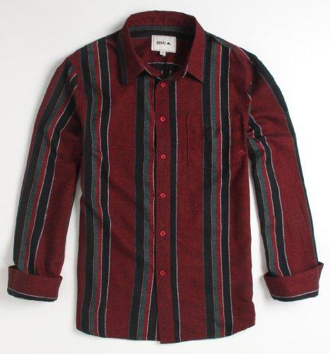 Emerica Hsu Manchester Woven Shirt - Maroon X Xlg Size